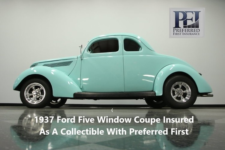 1937 Ford Five Window Coupe